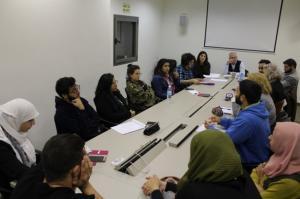 مجموعة بؤرية طلابية تناقش التّحديات التي يواجهها المجتمع الفلسطيني في الـ48