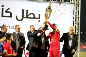 الوطنية موبايل واتحاد كرة القدم يتوجان أهلي الخليل بكأس فلسطين
