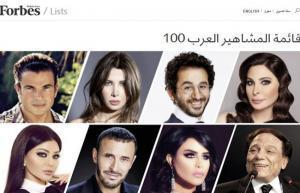 """""""فوربس"""" تنشر قائمة أهم 100 شخصية عربية.. تعرّف عليها"""