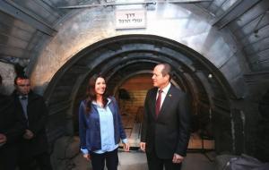 انفاق اسرائيلية تحت القدس في خدمة المتعصبين