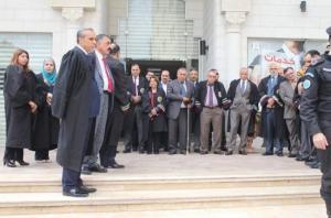 """نادي القضاة يدعو القضاة للمشاركة في الاحتجاج على قرار ترمب ويحث على مقاطعة """"USAID"""""""