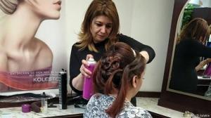 مهاجرة سورية تساعد اللاجئات على إيجاد فرصة عمل