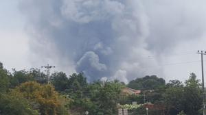 فيديو.. حريق كبير في مستوطنة بالنقب