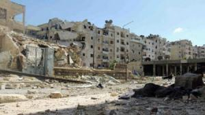 مواد كيميائية سعودية المصدر في حلب القديمة