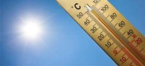 اجواء حارة نسبيًا