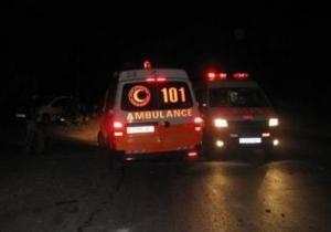 """""""الصحة"""" تحول رضيعا لمستشفى """"هداسا"""" إثر استنشاقه الغاز خلال مواجهات في عابود"""