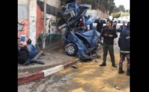 فيديو | شاحنة تدهس 9 مواطنين قرب بيت جالا