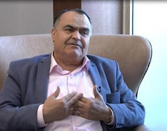 أحمد رفيق عوض : 6% هي المساحة المتاحة حاليا للفلسطينيين من اجل إقامة دولتهم المنشودة .