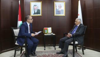 وطن تحاور رئيس مجلس القضاء الأعلى الانتقالي المستشار عيسى أبو شرار