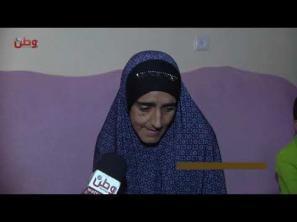 أرملة تعيل عائلتها بـ  500 شيقل تناشد أهل الخير لمساعدتها في ترميم بيتها