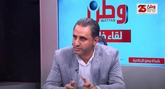 """""""وطن """"  تحاور رئيس قائمة """"فلسطين الموحدة""""  الدكتور أحمد اطميزة"""