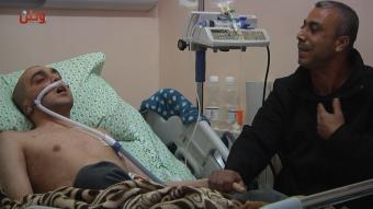 قلبه يتوق لغزة ورئتاه تئن في الخليل.. من يسمع صرخة أحمد؟