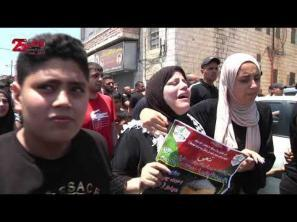 أحمد الفهد.. شهيد مخيم الأمعري الذي زف قبل شهر من موعد عرسه