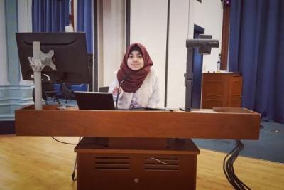 Erasmus+ program has made Fatima from Gaza a success story in her community