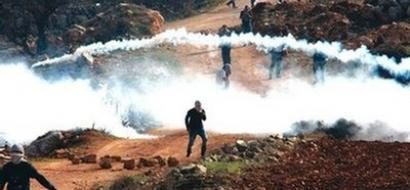 اصابة العشرات في مسيرة كفر قدوم