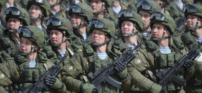 الجيش الروسي، تركيبته وتوزيع قواته
