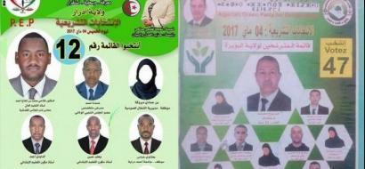 المرشحات في الانتخابات الجزائرية يغبن عن صور الدعاية