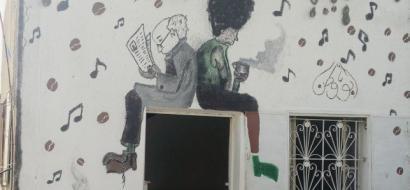 """خاص لـ """"وطن"""" بالفيديو .. الخليل: فنجان قهوة وكتاب .. بمقهى من نوع جديد في نوبا"""