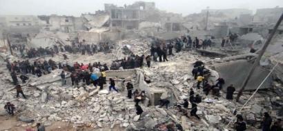 سوريا: التحالف الدولي برئاسة واشنطن يدمر بنية سوريا ويتغاضى عن الارهاب
