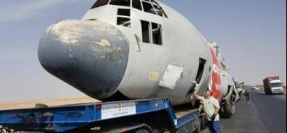 صور .. الأردن يُغرق طائرة عسكرية!