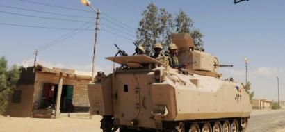 مقتل 6 من الأمن المصري في هجوم بسيناء