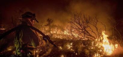 خسائر حرائق كاليفورنيا تجاوزت مليار دولار