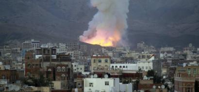 اتهامات للتحالف العربي باستخدام اسلحة محرمة في اليمن