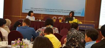 ابداع المعلم و الحملة العربية للتعليم يشاركون  في اللقاء التشاوري التربوي للائتلافات التربوية في شرق وجنوب آسيا