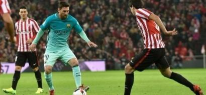 كأس إسبانيا: برشلونة يسقط أمام بلباو بثنائية