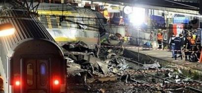 إصابة أكثر من 30 شخصاً إثر خروج قطار عن سكته في نيويورك