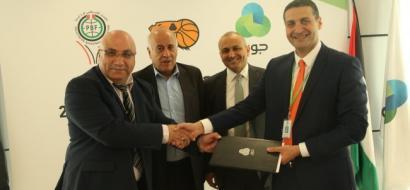جوال توقع اتفاقية رعاية كأس ودوري جوال مع الاتحاد الفلسطيني لكرة السلة للموسم 2017/2018