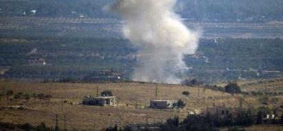 جيش الاحتلال يقصف أهدافا في سوريا