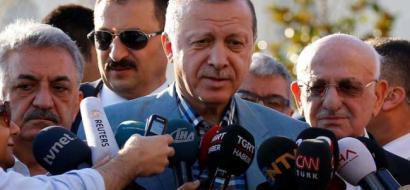 """أردوغان: نؤيد قطر والدعوة لإغلاق القاعدة التركية """"عدم احترام"""""""
