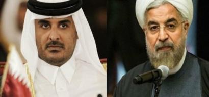 روحاني لـ ابن حمد: جونا وبرنا وبحرنا مفتوح أمام قطر