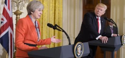 رئيسة وزراء بريطانيا لترامب: الاتفاق النووي مع ايران في غاية الأهمية