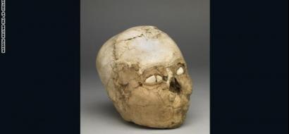 """بالصور .. احياء """"جمجمة أريحا"""" بعد 9500 عام؟"""