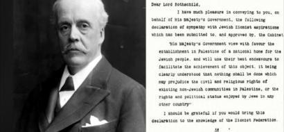 بريطانيا ترفض الاعتذار عن وعد بلفور