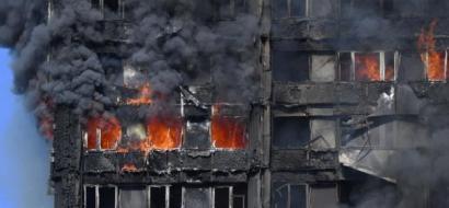حريق البرج السكني في لندن يسفر عن مقتل 6 أشخاص