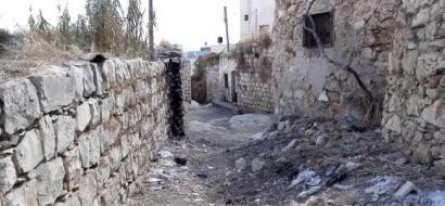 """خاص لـ""""وطن"""": بالفيديو.. قلقيلية: سنيريا..البلدة القديمة مهجورة ومهملة"""
