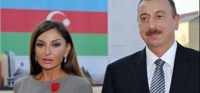 باستفتاء شعبي.. الرئيس الأذربيجاني يعين زوجته نائباً أول له