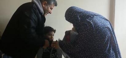 """خاص بعد تقرير لـ""""وطن"""" بالفيديو .. أهالي الخير بغزة يستجيبون لمناشدة عائلة """"عليوة"""" ويوفرون لها مصدر دخل وشقة سكنية"""