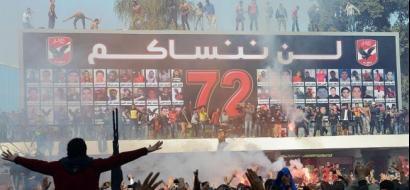 الحكم بإعدام 10 أشخاص في قضية استاد بورسعيد