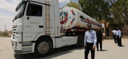 ترتيبات لإدخال كافة أنواع المحروقات لغزة عبر معبر رفح