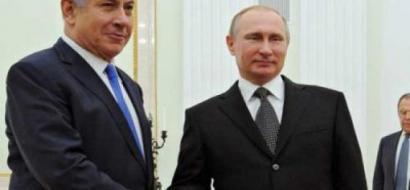 نتنياهو وبوتين يبحثان التنسيق العسكري في سوريا