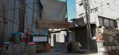 أسواق اليرموك تشهد انخفاضاً بأسعار المواد الغذائية بعد فتح معبر العروبة