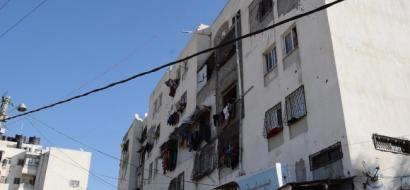 """خاص لـ""""وطن"""": بالفيديو.. غزة: أبراج الندى.. عشوائيات عامودية تفتقر الخدمات"""
