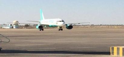 هبوط أول طائرة سعودية بمطار بغداد بعد توقف دام 27 عاما