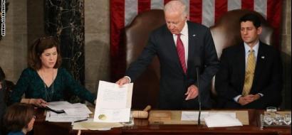 الكونغرس يعتمد فوز ترامب بالانتخابات رغم اعتراض الديمقراطيين