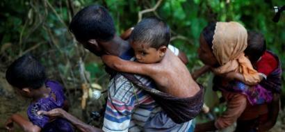 """""""يونيسيف"""": حالة بائسة يعيشها أطفال اللاجئين الروهينجا في بنجلادش"""
