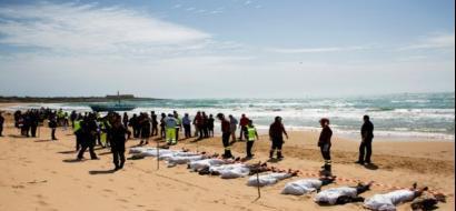 العثور على 8 جثث لمهاجرين في البحر المتوسط